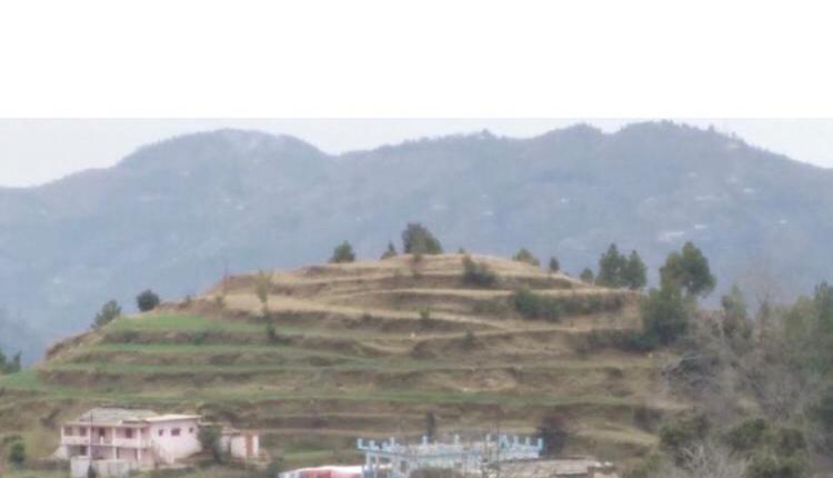 12 lakhs – 4-side open hilltop in Kasiyalekh near Neelkanth Family Restaurant in Mukteshwar